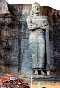 An unusual Standing Buddha