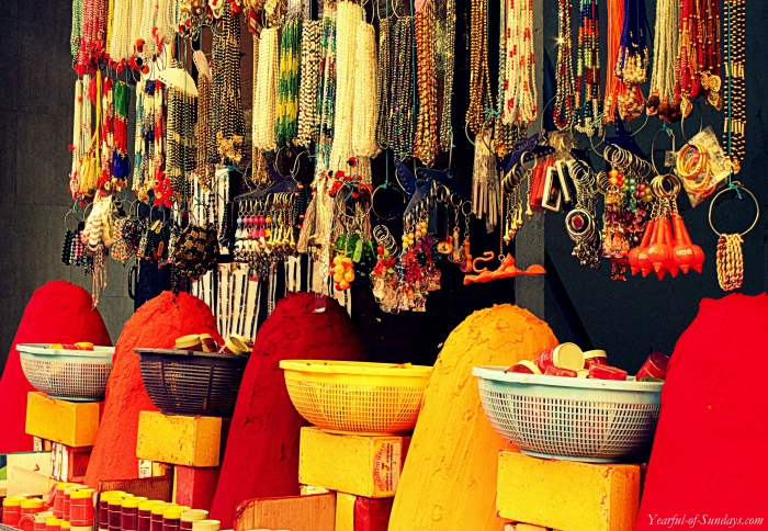 Shop outside Omkareshwar Temple