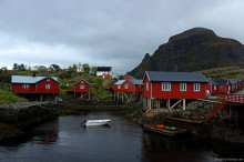 My home for those few days - a rorbu in Arctic Norway (Å, Moskenes)