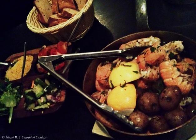 Day 2 - A bucket full of lobster, Fjorubordid restaurant, near Selfoss