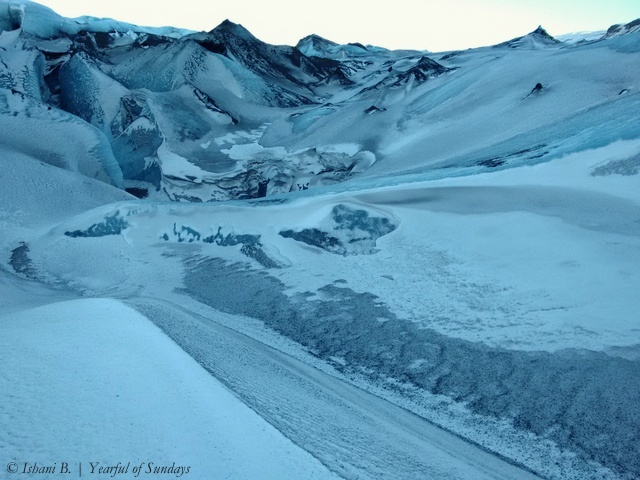 Day 3 - Hiking on the Solheimajokull glacier