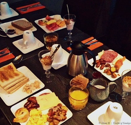 Day 8 - Giant breakfast at Hotel Alda, Reykjavic.jpg